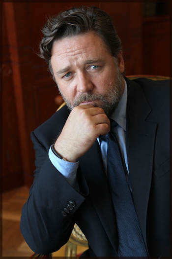 russell crowe young